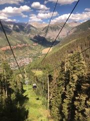 The Gondola rides are free!