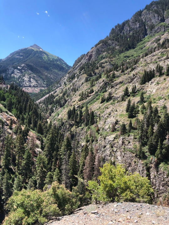 View from Million Dollar Highway